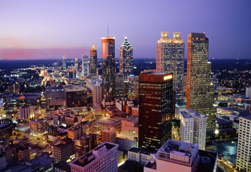 Atlanta City Night View